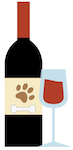 dog wine party